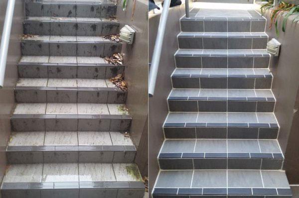 کفسابی راه پله در تهران